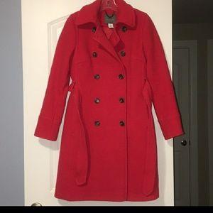 J. Crew wool trench coat